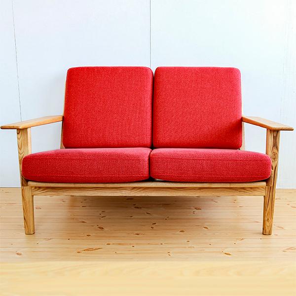 デザインソファ 二人掛け