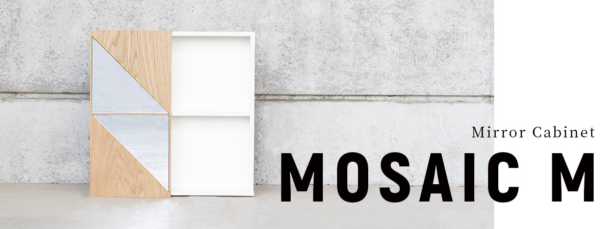 Mirror Cabinet MOSAIC M