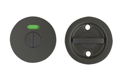 引き戸表示錠 ブラック